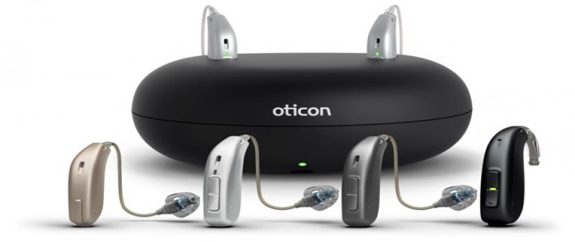 Oticon Rechargeable Hearing Aids