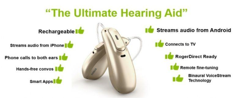 Phonak Marvel Rechargeable Hearing Aid