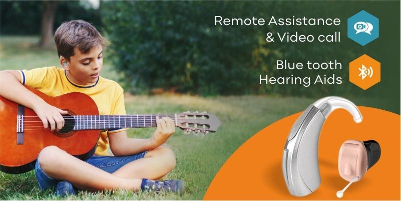 remote assistance in hearing aids